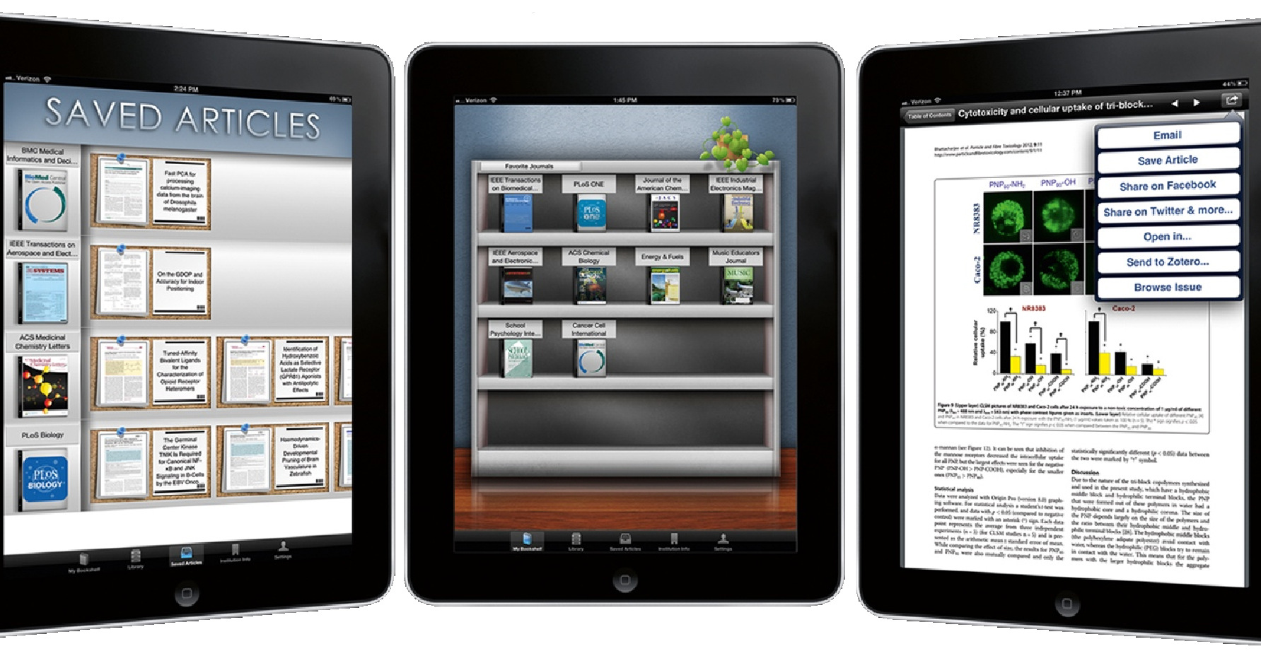 Library users can now easily read and follow favourite scholarly journals with BrowZine.