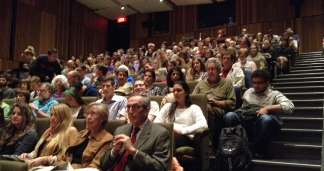 Full house at this year's Mossman Lecture featuring Professor Steven Shapin