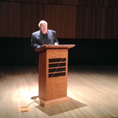 Mossman guest lecturer Steven Shapin, Franklin L. Ford Professor, History of Science, Harvard University