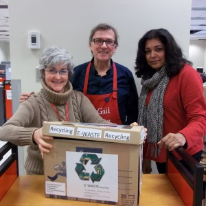 Special thanks to Collection Services staff members Margaret Blandford, Michel Morin & Helene Koonjbeharrydass for getting this initiative off the ground.