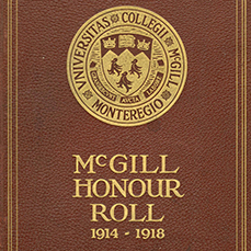 McGill Honour Roll
