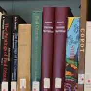 Blackader bookshelf