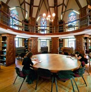 Islamic Studies Library's Octagon Room