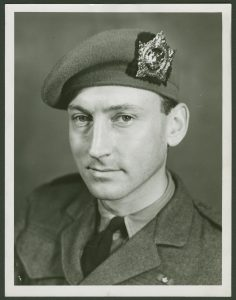 Lieutenant Colonel Frederick Ernest Wigle of the First Battalion, Argyll and Sutherland Highlanders, 1944ca, Canadian Army Photo, #0000-0481.04.260