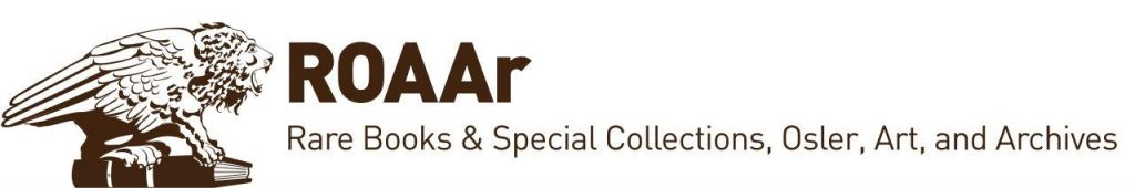 ROAAr logo designed by Greg Houston