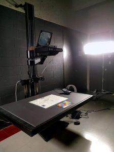 Better Light, a digital camera back mounted on a DeVere enlarger