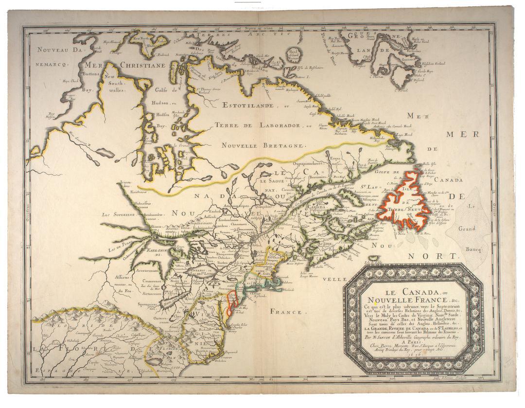Le Canada, ou Nouvelle France, &c. 1656
