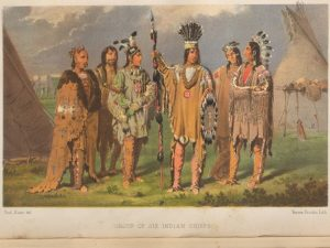 PAUL KANE, 1810-1871. Wanderings of an artist among the Indians of North America. London: Longman, 1859. Rare Books and Special Collections – Lande Canadiana 01258
