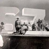 Photo d'Expo 67 tirée de l'album de photos personnelles de Jean Drapeau.