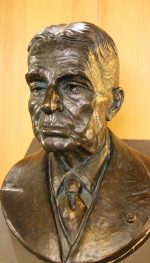 Bust of Casey Wood