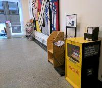 McGill Little Free Library in the Arts Building. Photo: Merika Ramundo