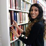 Student worker Alyanna Jamal