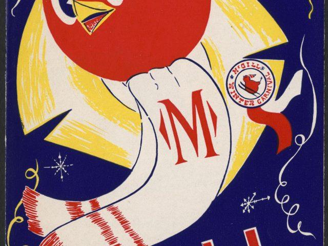 McGill Winter Carnival Program from the 1950s, McGill University Archives.