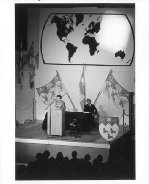 Beatty Lecture with Elizabeth Han Suyin 1968, PR013241, McGill University Archives