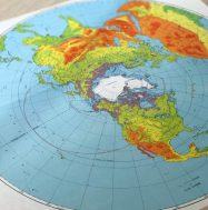 Map of the world. Photo by Ianna Breese.