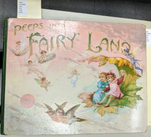Peeps into Fairyland : a panorama picture book of fairy stories. London: Ernest Nister, 1896.
