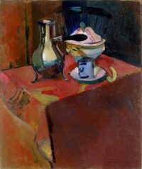 Figure 2 Henri Matisse (1869-1954), Crockery on a Table (1900), oil on canvas, 97 x 82 cm., State Hermitage Museum, Saint Petersburg, Russia.