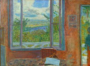 Figure 4. Pierre Bonnard, Fenêtre ouverte sur la Seine, 1912, huile sur toile. Musée des Beaux-Arts de Nice.