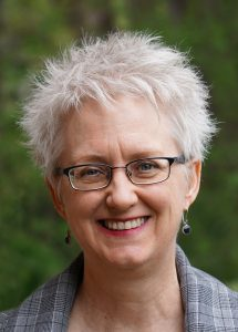 Headshot of Cathy Martin smiling
