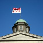 Arts Building Cupola and Flag