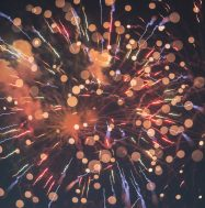 Picture of fireworks and confetti. Photo by Erwan Hesry on Unsplash