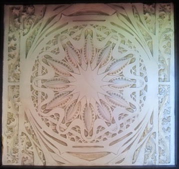Louis Sullivan, Starpod (Ornament from Garrick Theatre), 1892, Plaster sculpture, 74 x 70 cm. Gift of David Bourke (B. Arch '54). McGill Visual Arts Collection, 1994-029.