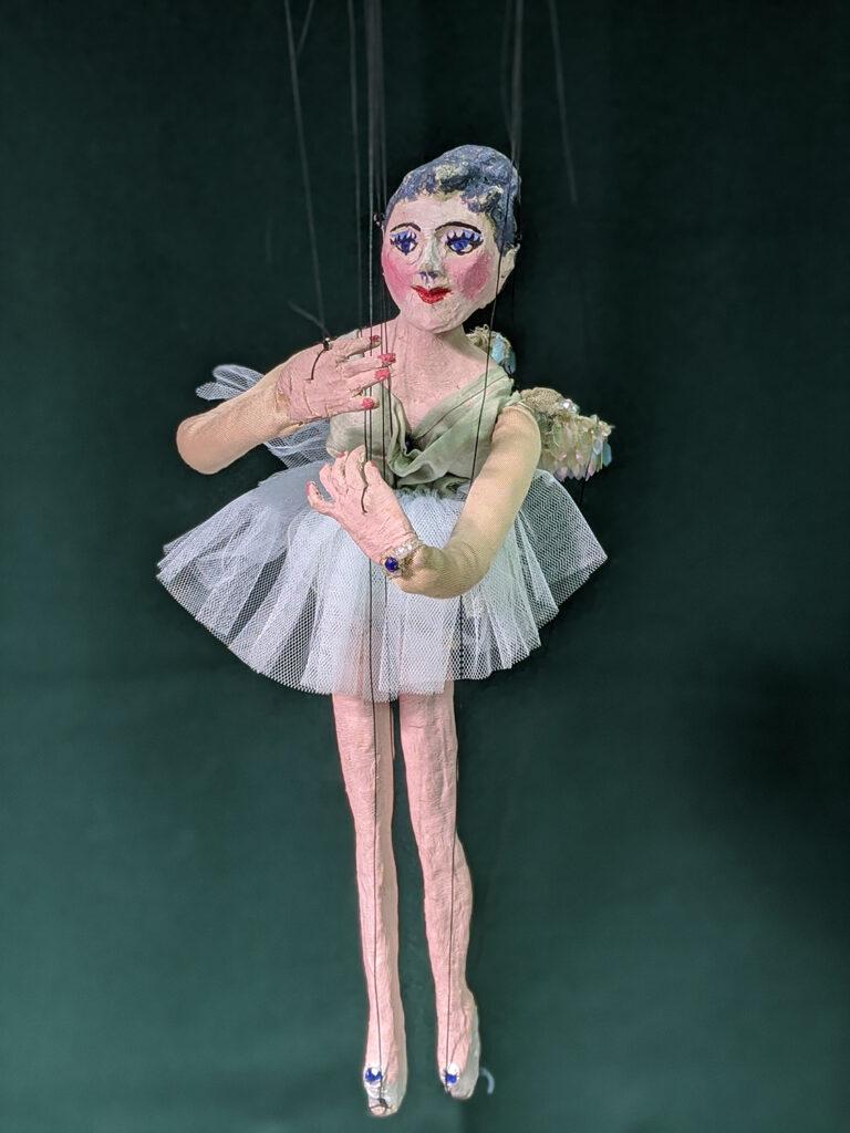 Ballet Dancer string puppet