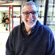 Steven Spodek in the Library