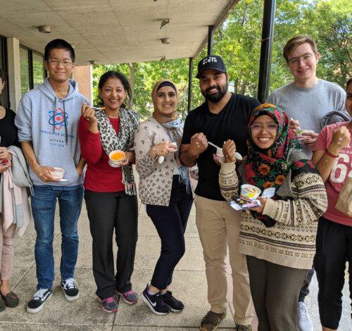 Library Ice Cream Social at Macdonald Campus, 2019