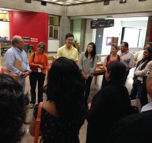 Library tour, 2014